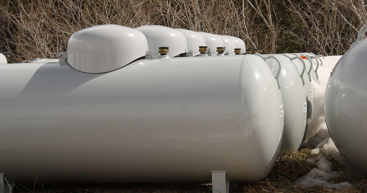 Propane Tank Storage
