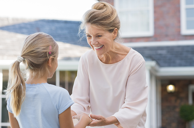 Woman and Child Happy About Air Conditioning Installation on Cape Cod, MA Home