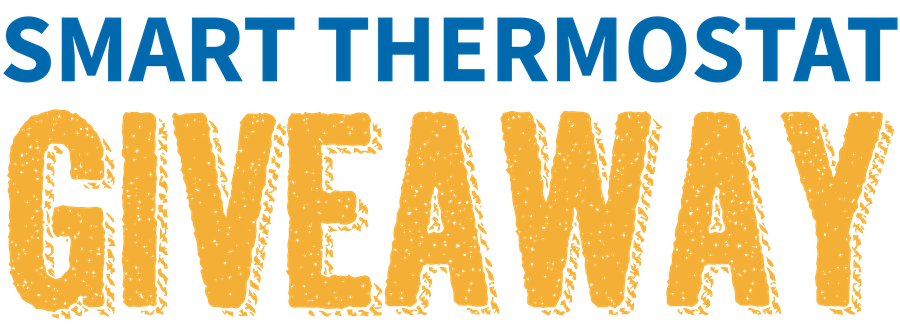 Smart Thermostat Giveaway