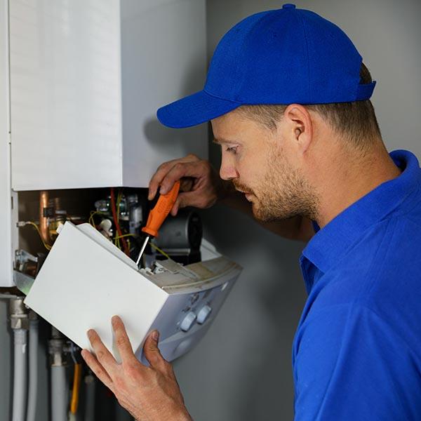 maintenance on gas or oil boiler
