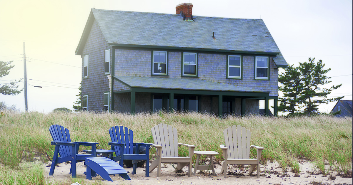 Beach House Winter