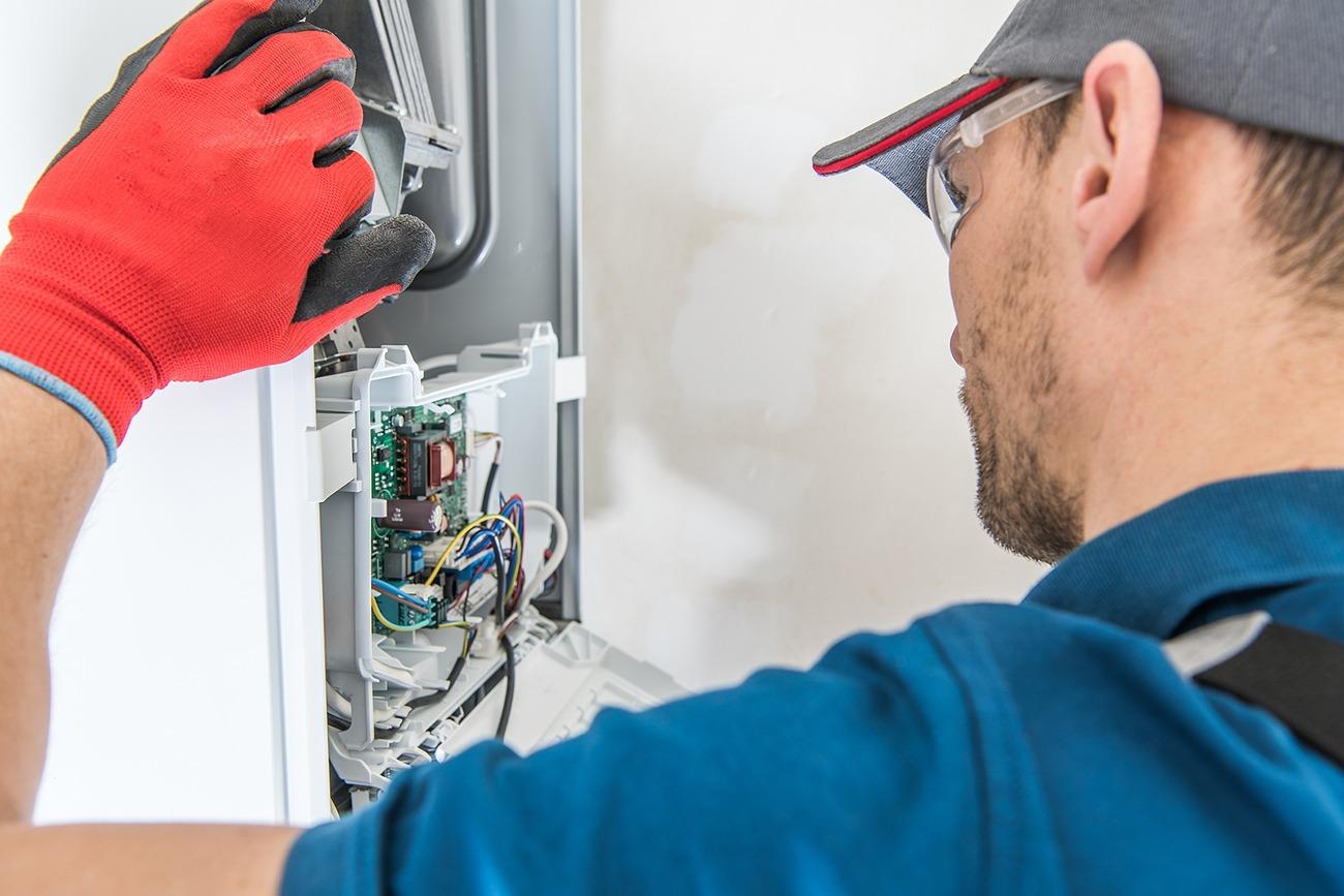 gas or oil boiler maintenance